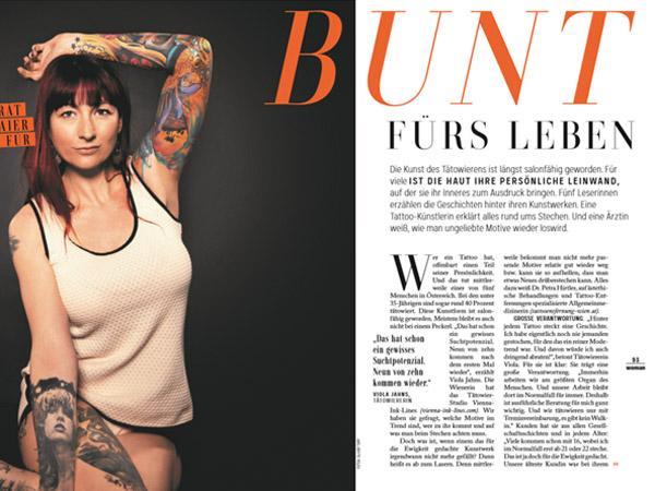 Bunt fürs Leben – Interview mit Woman